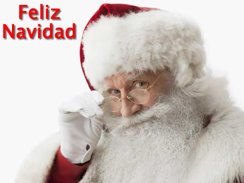 Papá Noel Feliz Navidad